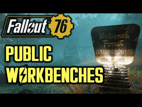 Fallout 76 - Unlocking Bulding Schematics via Public Workbenches thumbnail