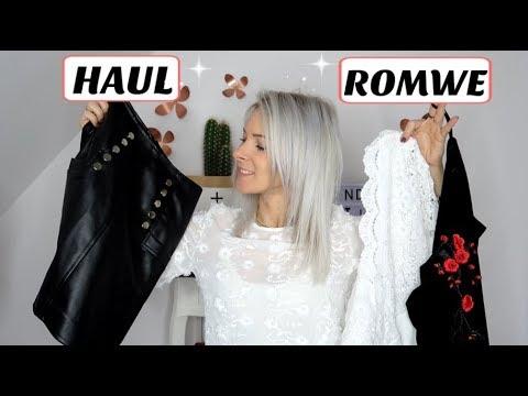 34c0018152 ROMWE HAUL TRY-ON ! - YouTube