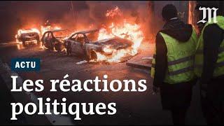 #GiletsJaunes : la classe politique réagit aux débordements