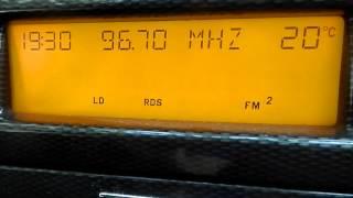 FM Bandscan - Manchester, England (City Centre)