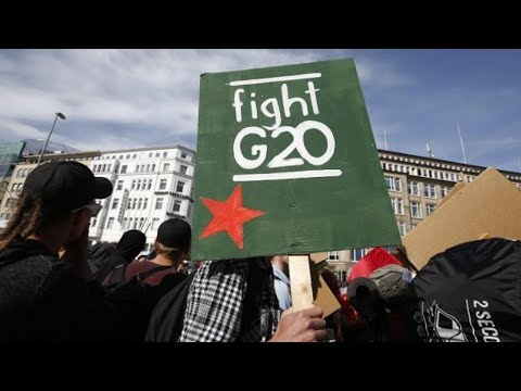 Tens of Thousands Plan to Protest Trump and Globalization at G20 Summit in Hamburg, Germany