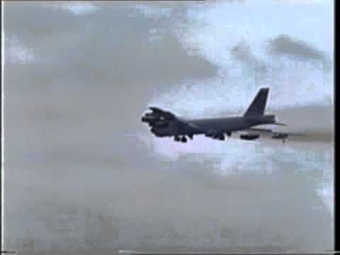 B52H Stratfortress from Griffiss AFB at Finingley Air Show 1993 in memory of Joyce