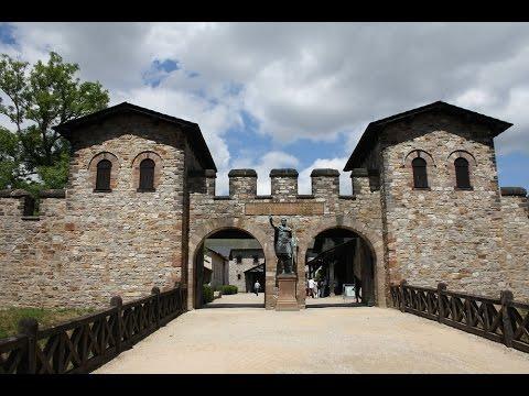 Германия  Бад-Зоден крепость Заальбург