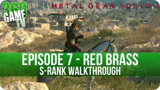Metal Gear Solid V The Phantom Pain - Episode 7 (Red Brass) S-Rank Walkthrough