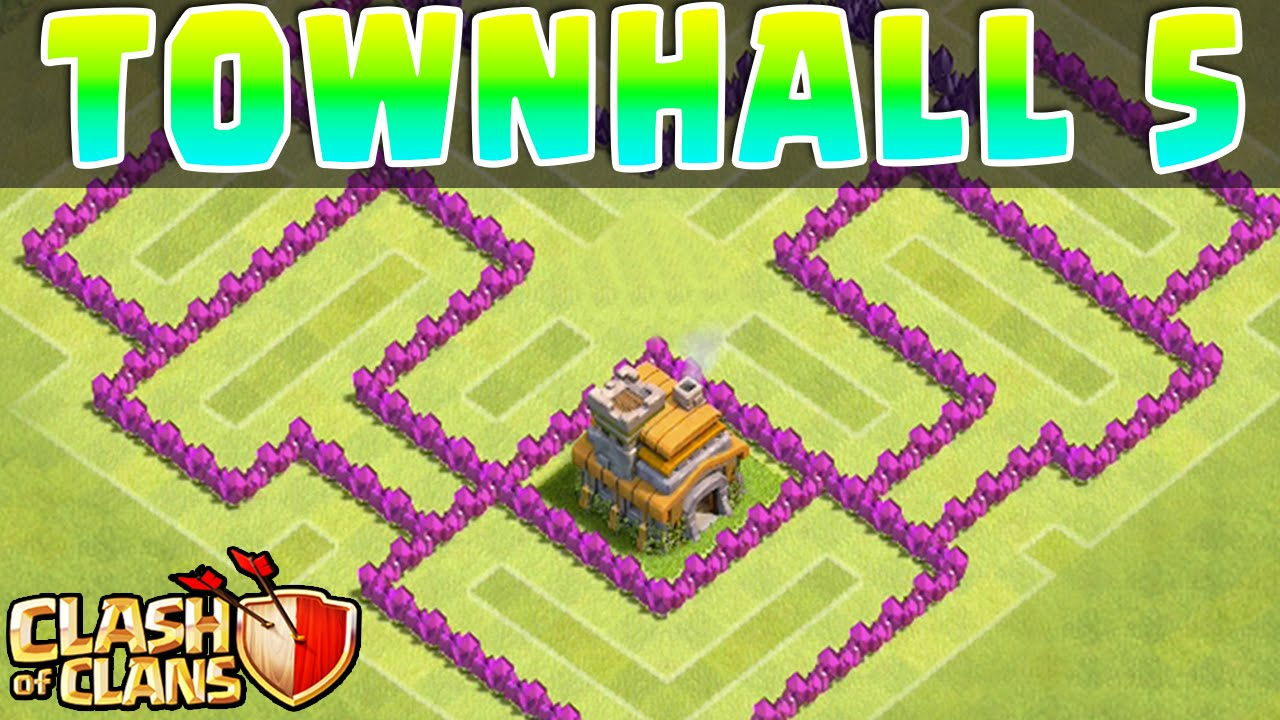 Clash of Clans - DEFENSE STRATEGY - Townhall Level 5