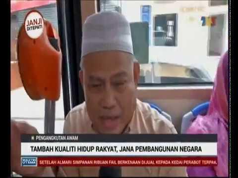 Pengangkutan Awam - Tambah Kualiti Hidup Rakyat, Jana Pembangunan Negara