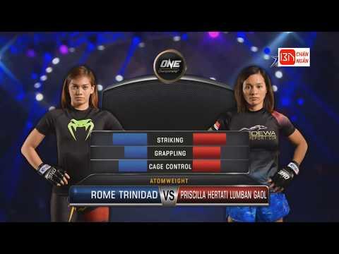 Rome Trinidad vs Priscilla Hertati Lumban Gaol: One Championship 12.5.2018 Mp3