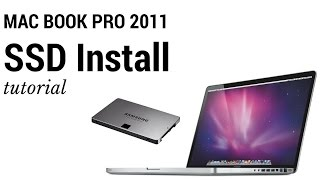 Replace Hard Drive in MacBook Pro 2011