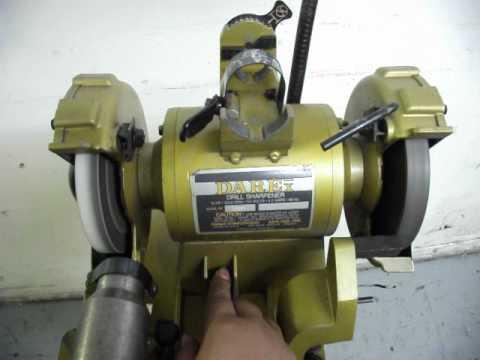 Darex Drill Sharpener Avi Youtube