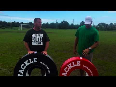 Suntree Viera Youth Football Coaches love Tackle Tube