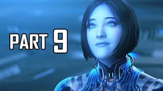 Halo 5 Guardians Walkthrough Part 9 - Cortana's Plan (Gameplay Let's Play Commentary)