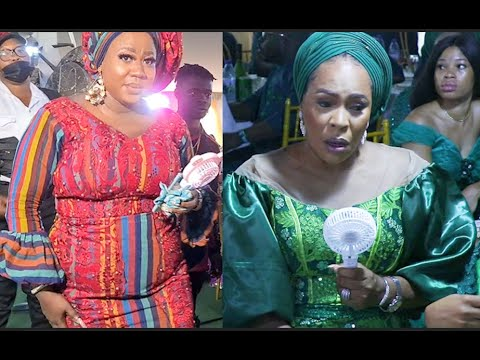 Download Checkout The Outfit Faithia Williams,Other Yoruba Actress Rock To Bisola Badmus' Dad Burial Ceremony