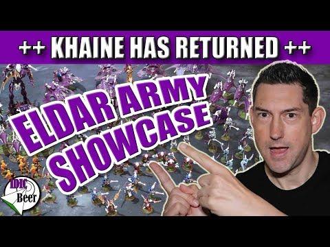 Eldar Army Showcase - Khaine has Returned