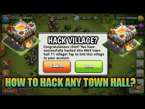 HOW TO HACK MAX TOWN HALL 11? +PROOF! NO ROOT OR JAILBREAK REQUIRED. SEPT 2017