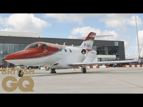 HondaJet private jet review | British GQ