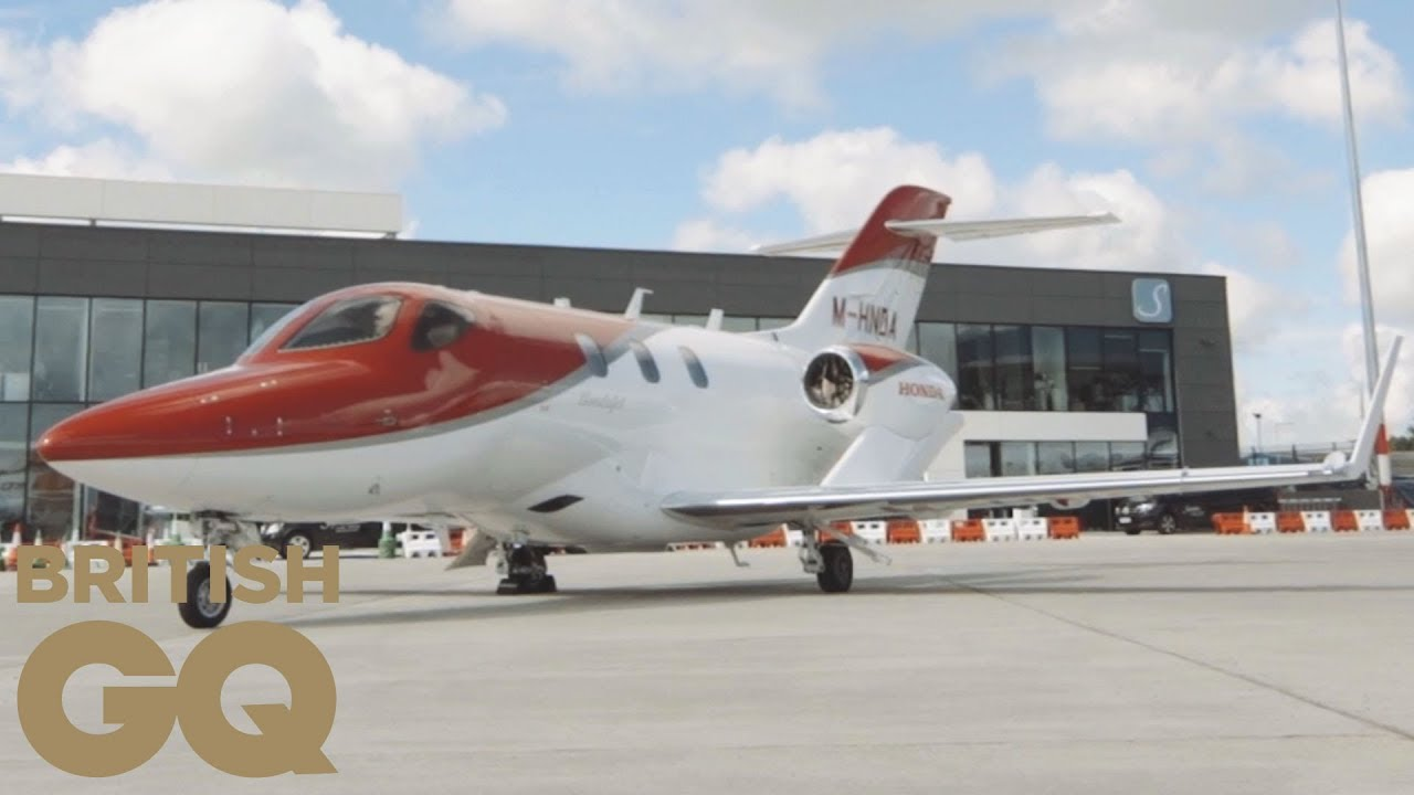 Hondajet private jet review british gq youtube for How much is a honda jet