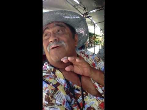 Speaking in Hawaiian Pidgin