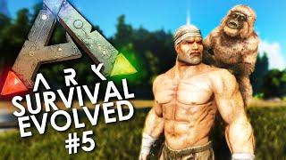 ARK: Survival Evolved - Episode 5 | Taming A Mesopithecus!