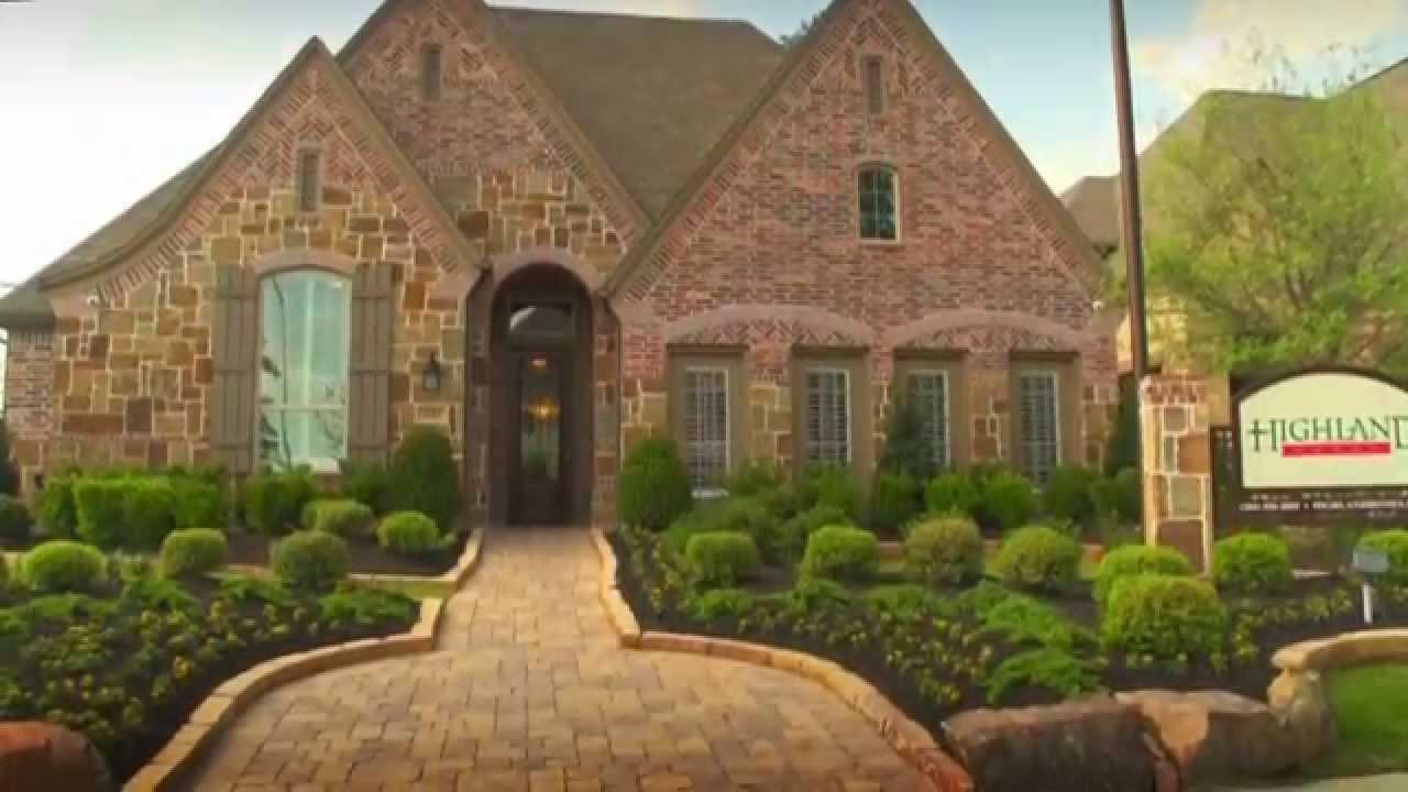 houston texas homes highland harmony planned master community