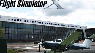 HD Microsoft Flight Simulator X - FSX - Leeds - Manchester - Gita Inglese