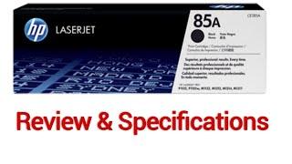 HP 85A Toner Cartridge Review & Suitable Printers