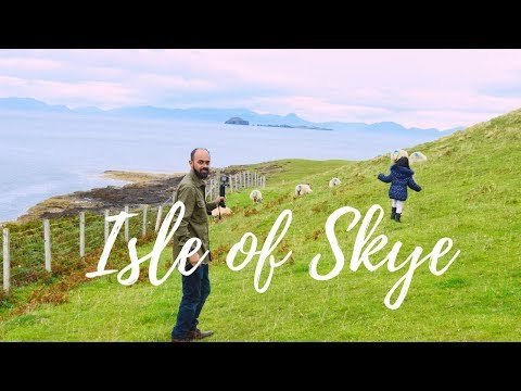 Lap 4: The Epic Isle of Skye, Scotland  Indian family Road Trip UK   Traveling with kid  