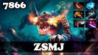 ZSMJ Slark   7866 MMR Dota 2
