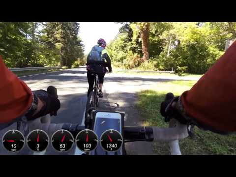 Course Preview - Berkshire Cycling Association Fall Foliage Gravel Grinder 2014
