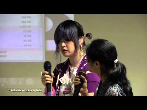 Ms. Aya Fujisaki Fashion Designer Japan goes to LaSalle College Jakarta