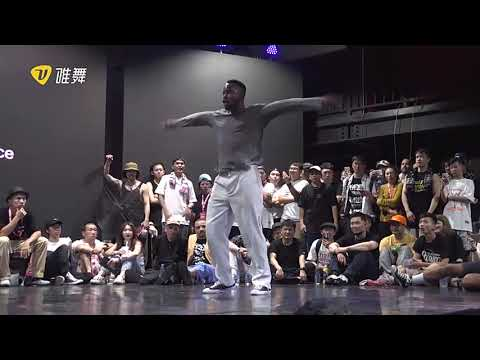 Poppin C vs Prince at dance vision vol 7 (top 8)