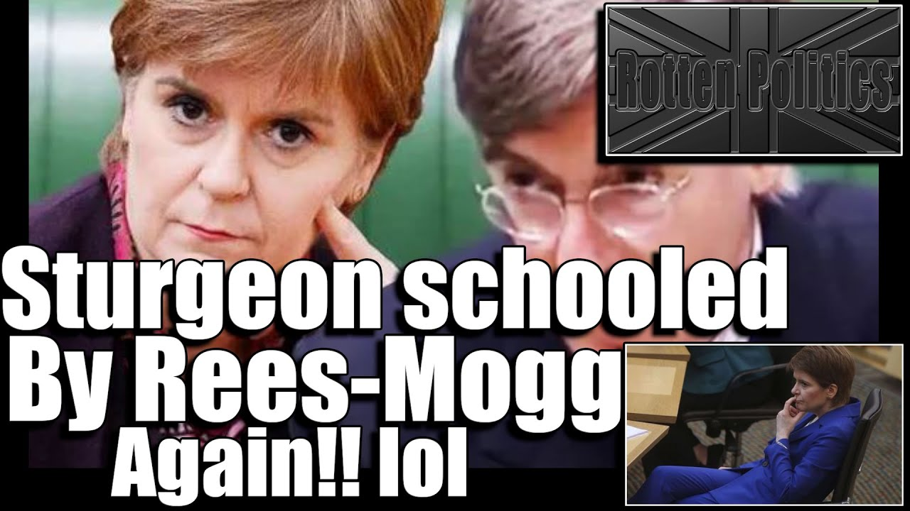 Rees-Mogg Schools snp's sturgeon on facts lol