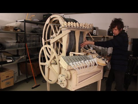 Prologue #4 Musical Marble Machine - Vibraphone Funnels