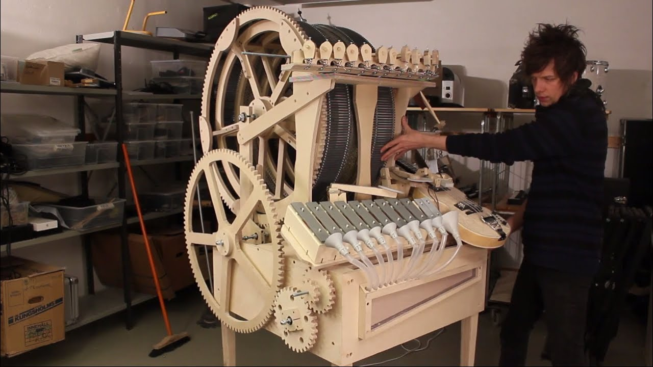 prologue 4 musical marble machine vibraphone funnels youtube