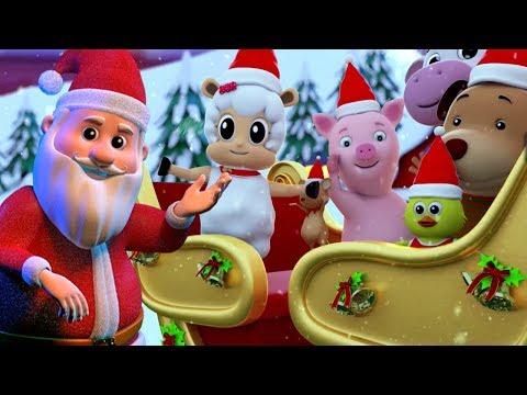 cascabeles | villancicos | festival canción | Papá Noel canción | Jingle Bells in Spanish