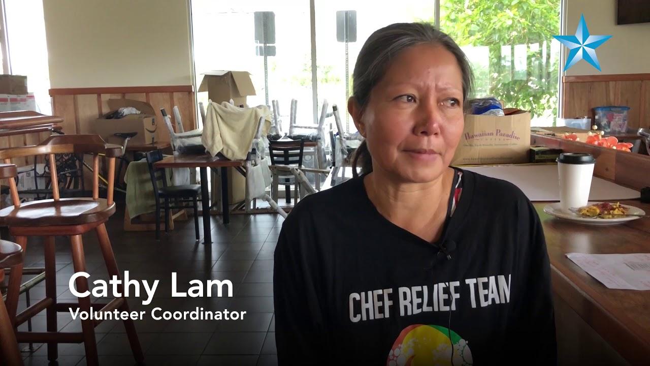 world central kitchen feeds hundreds displaced by lava on hawaii island - World Central Kitchen
