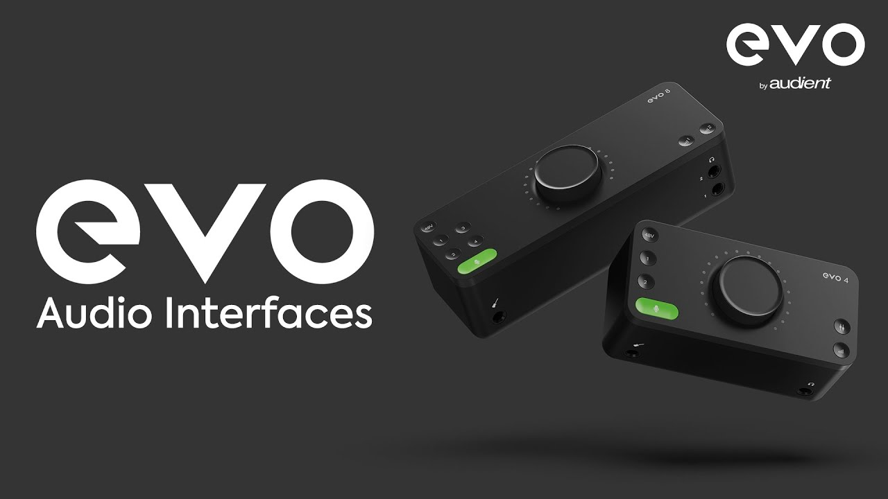 Introducing Evo Audio Interfaces Youtube