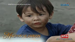 Magpakailanman: A heroic 3-year-old boy saves grandmother from fire