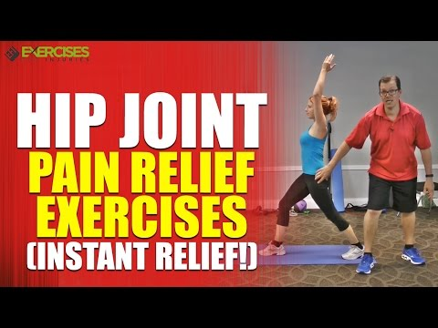 Hip Joint Pain Relief Exercises (INSTANT RELIEF!)