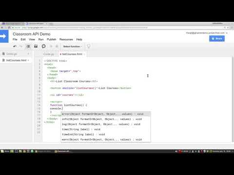 Deploying a Google Apps Script Web Application PART 1