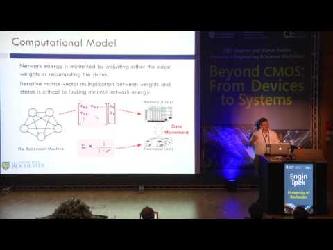 Engin Ipek, University of Rochester - Memristive Accelerators for Data Intensive Computing