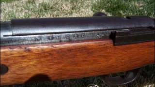 1939 WWII 7.7mm Japanese Type 99 Rifle at 420 yards
