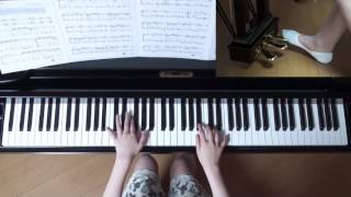使用楽譜;ぷりんと楽譜・中級(採譜者:小島 紀代美 )、 2017年6月10...