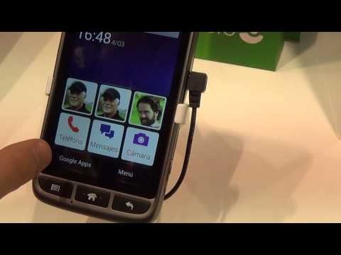 Doro Liberto 820 Mini - Video Preview MWC 2015 - MobileOS.it