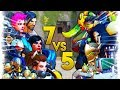 7 PLAYERS IN ONE TEAM..?! | Overwatch Best and Funny Moments - Ep.232