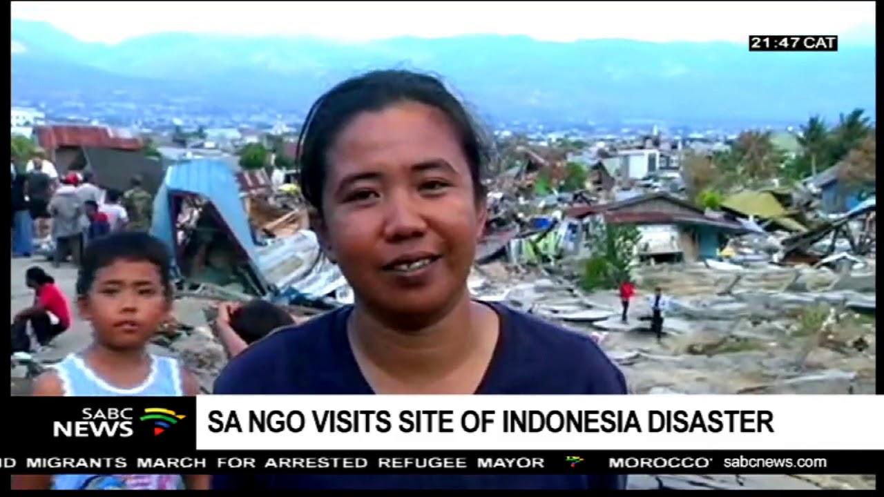 UPDATE: SA NGO rescue mission in Indonesia earthquake, tsunami