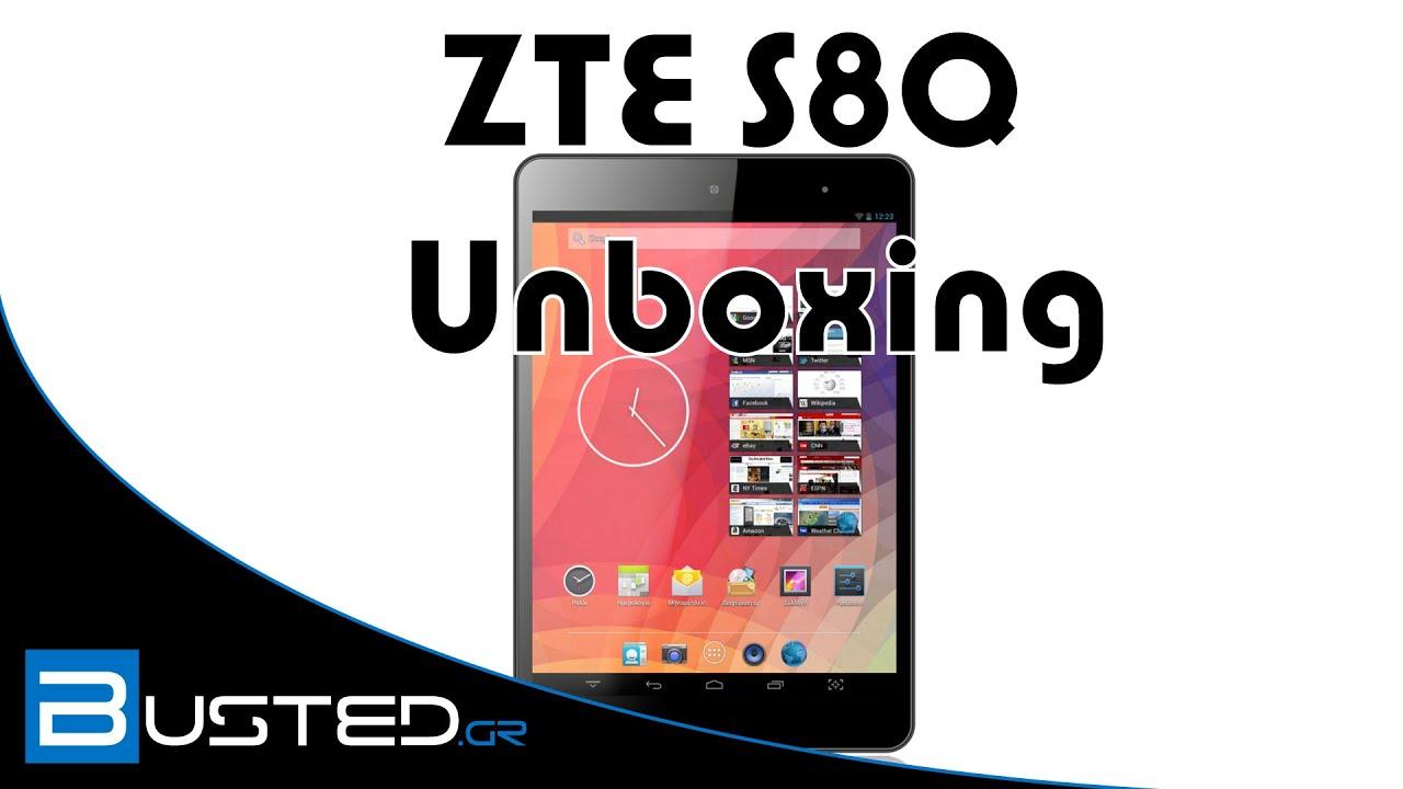 zte tablet unboxing event