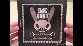 【UNBOXING】 One Shot + poster & photocard - B.A.P
