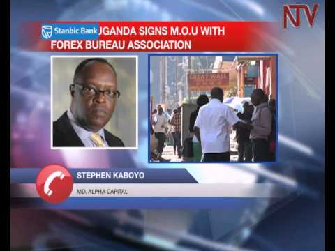 Bank of Uganda signs MoU with forex traders