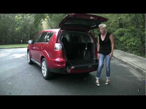 RoadflyTV - 2011 Mitsubishi Outlander GT Test Drive & Car Review