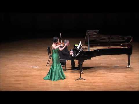 Ju-young Baek & Ralf Gothoni Duo Concert - Mozart Violin Sonata No.32 (mov.2)